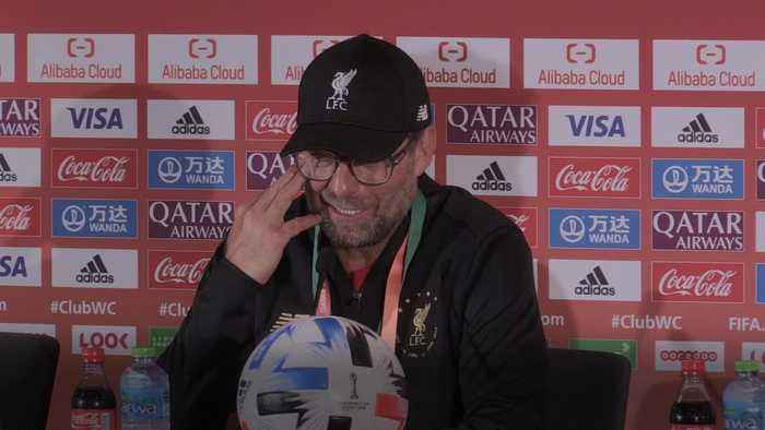 Klopp lost for words after Club World Cup triumph