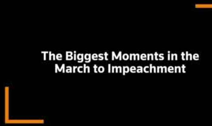 The biggest moments in the march to impeachment
