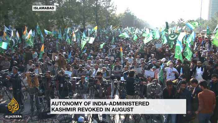 Protests continue in Pakistan in support of Kashmir