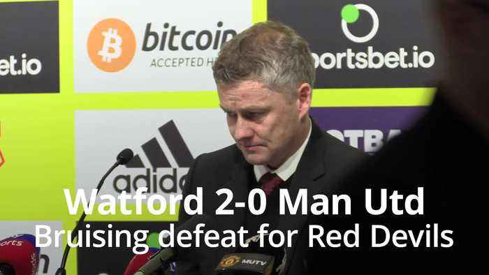De Gea blunder helps rock-bottom Watford stun Manchester United