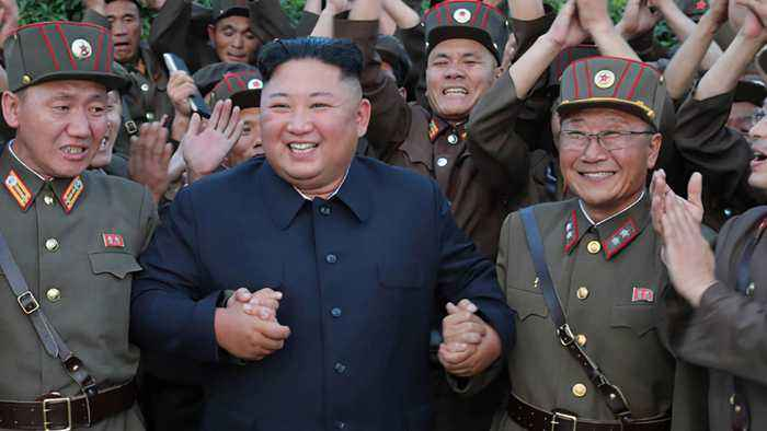 Kim Jong Un attends military meeting to possibly 'boost' country's miltiary