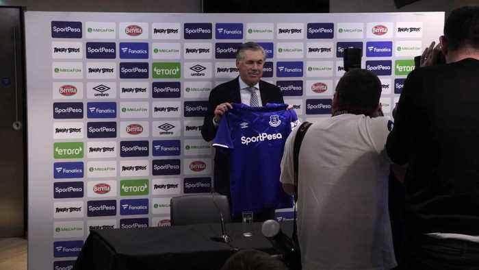 Carlo Ancelotti sets sights on taking Everton into Europe