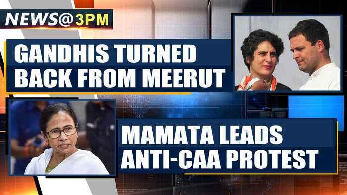 Rahul Gandhi, Priyanka Gandhi turned back from Meerut and more news | OneIndia News
