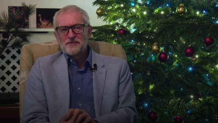 Jeremy Corbyn laments difficult year in Christmas message