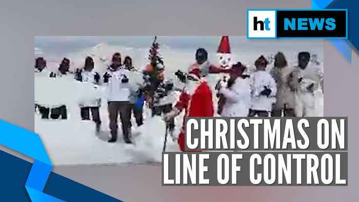 Watch: Jawans sing 'jingle bells' as they celebrate Christmas on LoC in Kashmir