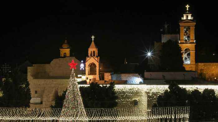 Christmas in Bethlehem: Tourists gather in city for occasion