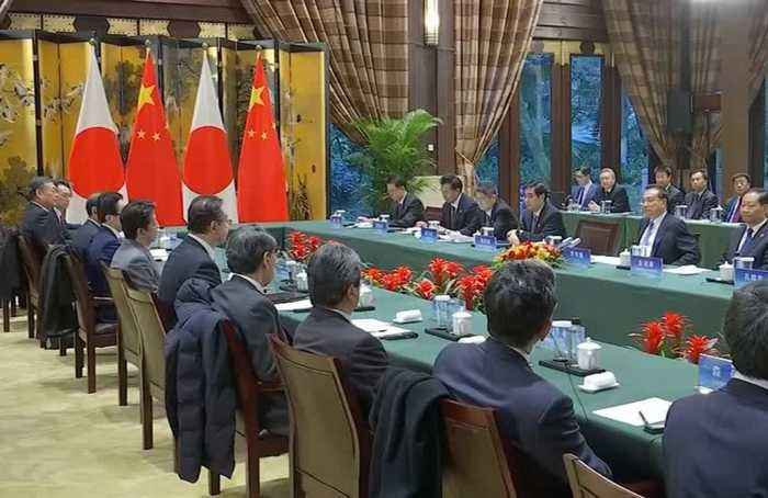 China and Japan agree to cooperate and improve ties at Chengdu summit
