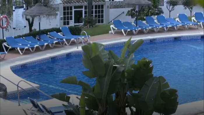 Police name father and 2 children who died in Spanish resort pool