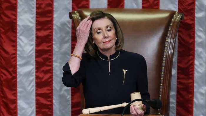 House Speaker Nancy Pelosi Makes Trump Squirm, Trump Incensed