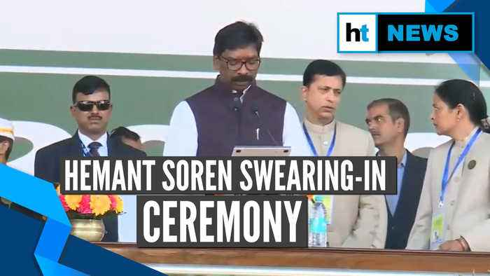 Hemant Soren takes oath as the 11th chief minister of Jharkhand