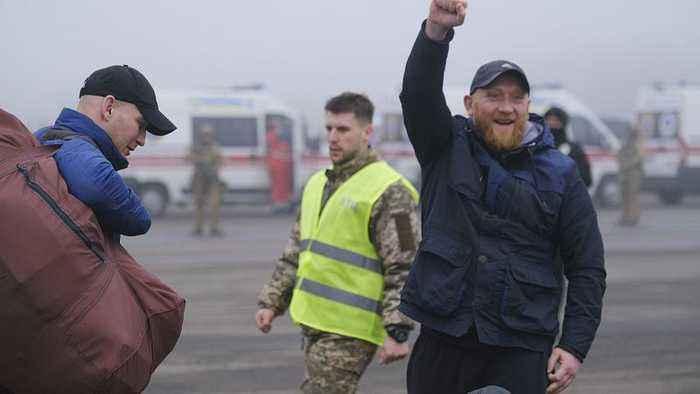 Prisoner swap begins between Ukraine and pro-Russian separatists