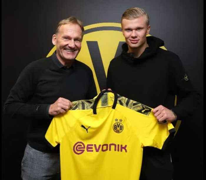 Teenage star Haaland signs for Dortmund