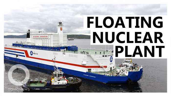 Russia's floating nuclear power plant now produces electricity