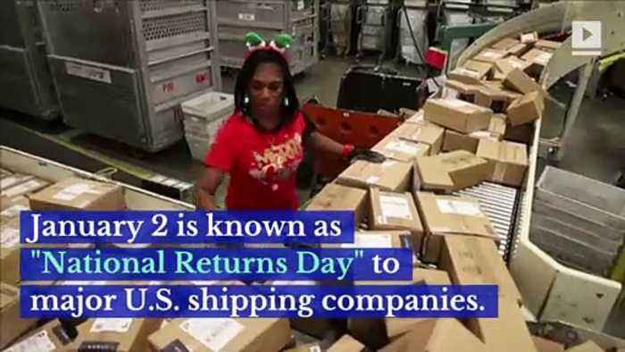 UPS Predicts Millions of Holiday Gift Returns on Jan. 2