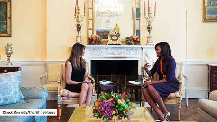 Melania Trump Is America's Second Most Admired Woman After Michelle Obama: Gallup
