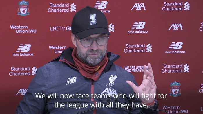 Klopp pleased with win over 'tough' Wolves