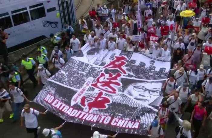 Hong Kong's turbulent year in revolt