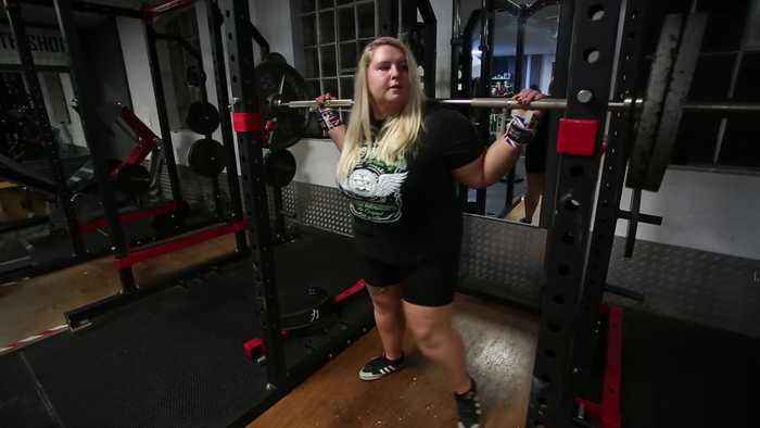 A self-confessed 'unlikely athlete' becomes powerlifting champion in just one year