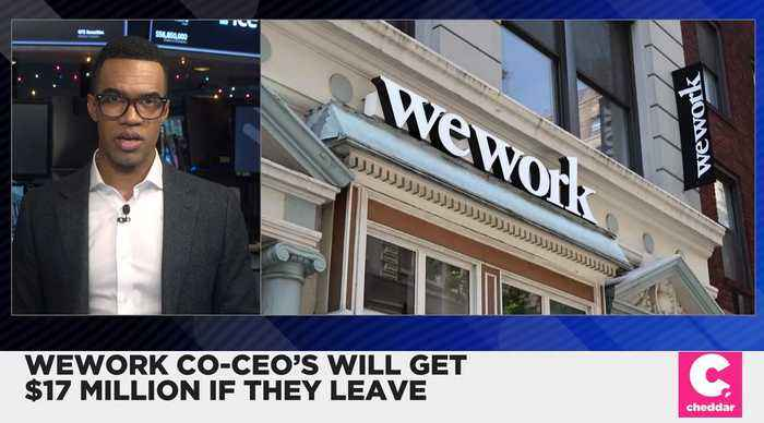 WeWork's Co-CEO's to Get Roughly $8 Million Each if Let Go