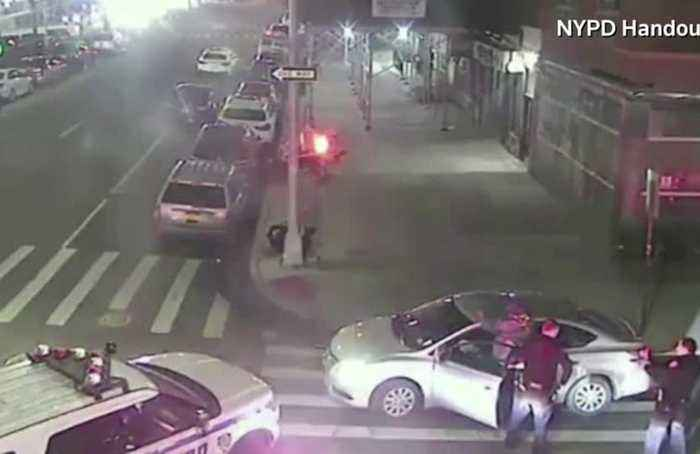 NYPD releases video showing arrest of suspect in attack on rabbi's home