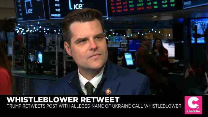Rep. Matt Gaetz: Notion That Elections Are Free From Foreign Influence Is 'Fiction'