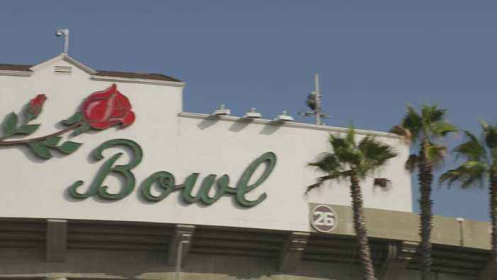 Rose Bowl History in California