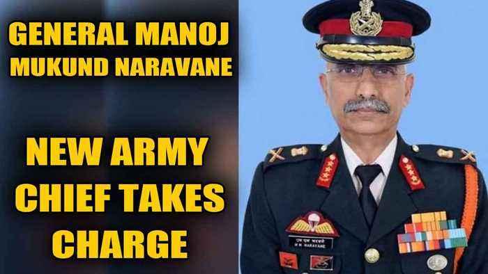 Gen Manoj Mukund Naravane takes charge as the 28th Army Chief | OneIndia News