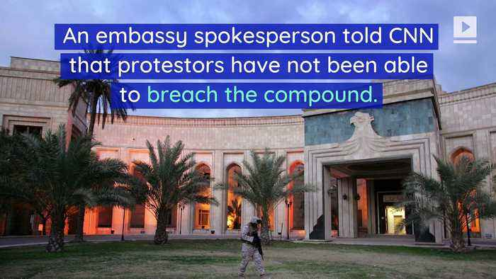 US Embassy Attacked in Baghdad After Airstrikes