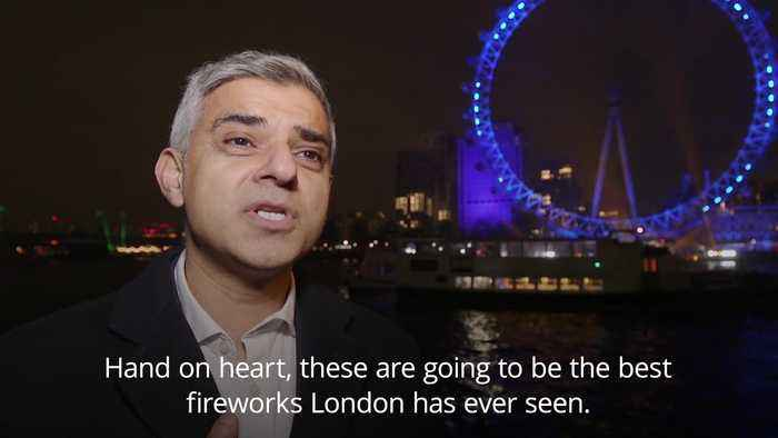 Sadiq Khan: New Year fireworks in London set to be 'best ever'