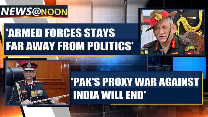 New Army Chief warns Pakistan, says proxy war against India can't go on  | OneIndia News