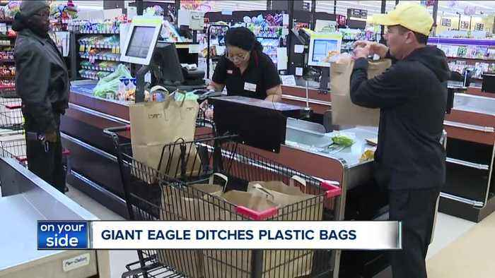 Paper or plastic? Giant Eagle's new policy on single use plastic bags