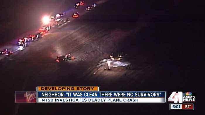 Neighbors next to Johnson County airport recall deadly crash