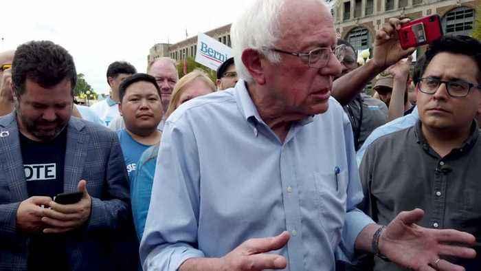 Sanders Reveals Impressive Forth Quarter Haul