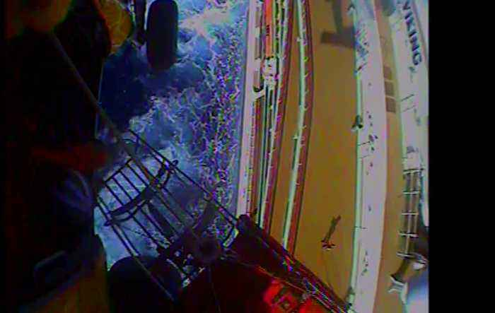 US Coast Guard Rescues Ill Cruise Ship Passenger In Pacific