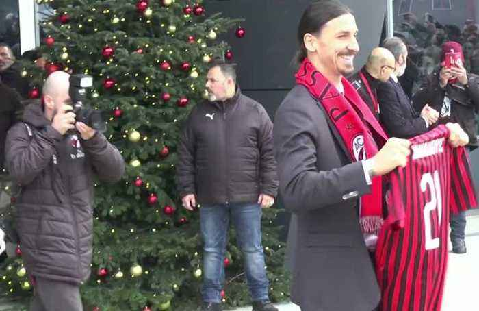 AC Milan fans hit by Ibra fever