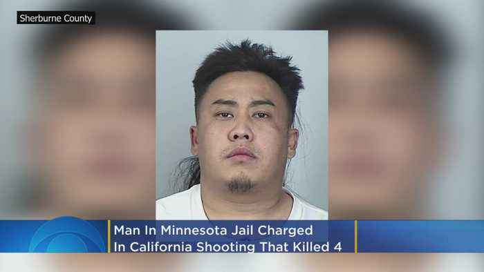 Man Jailed In Minnesota Charged In California Shooting That Killed 4