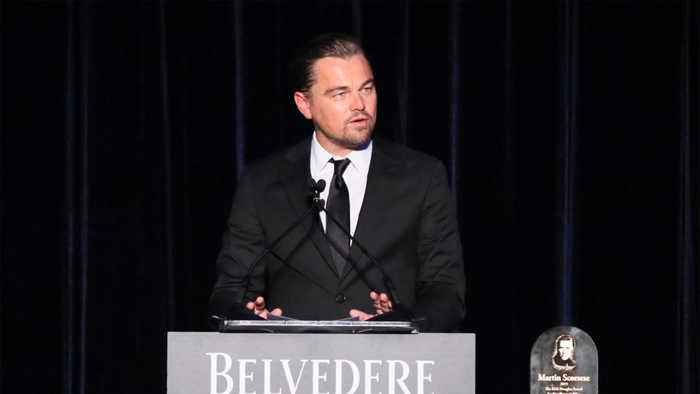 Leonardo DiCaprio applauds Golden Globes for serving plant-based meal at 2020 awards