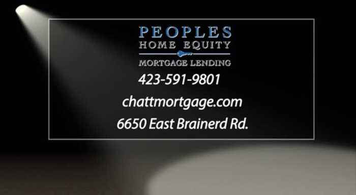 Peoples Home Equity Mortgage Lending: Refinancing  01-02-20