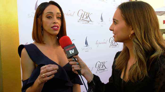 "Shanti Lowry Interview ""GBK's Pre-Golden Globes 2020 Celebrity Gift Lounge"" Red Carpet"