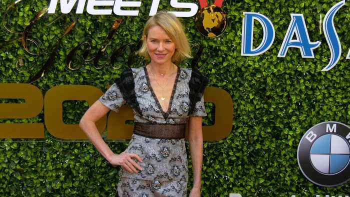 Naomi Watts 7th Annual 'Gold Meets Golden' Red Carpet Fashion