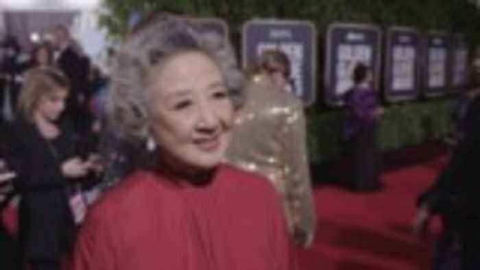 'The Farewell' Actress Zhao Shuzhen Gushes Over Meeting Leonardo 'Little Leo' DiCaprio | Golden Globes 2020