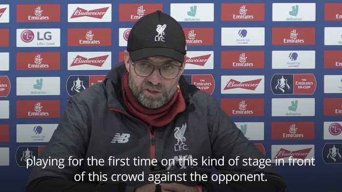 Jurgen Klopp: I loved every second of this game