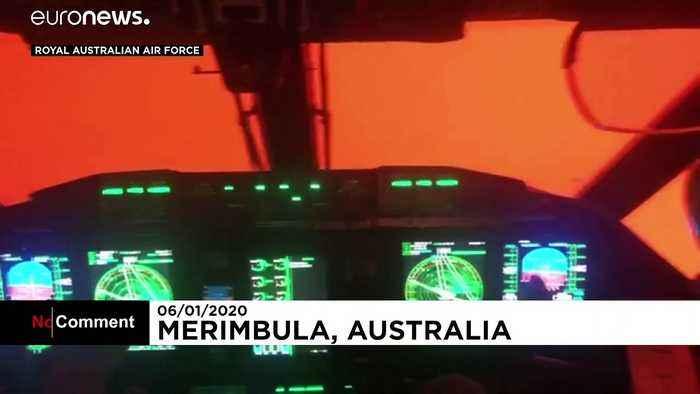 Australia bushfires: heavy smoke slows down rescue teams