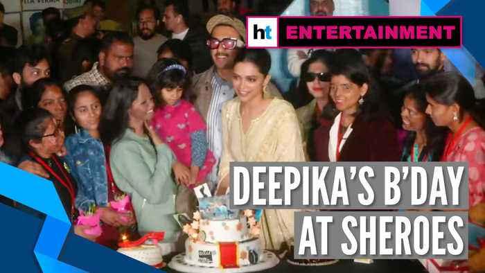 Deepika Padukone celebrates her 34th birthday at cafe run by acid attack survivors