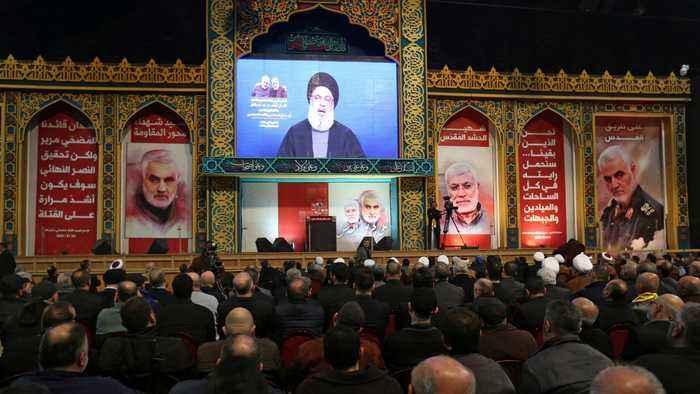 Hezbollah vows retaliation against US for Soleimani killing