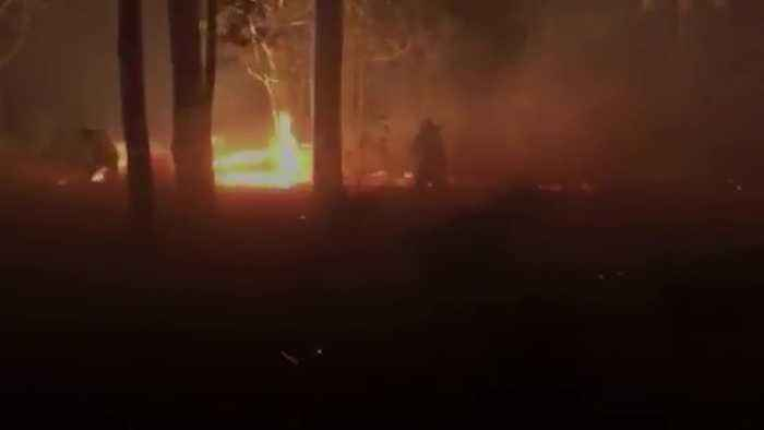 Footage shows severity of Australia wildfires