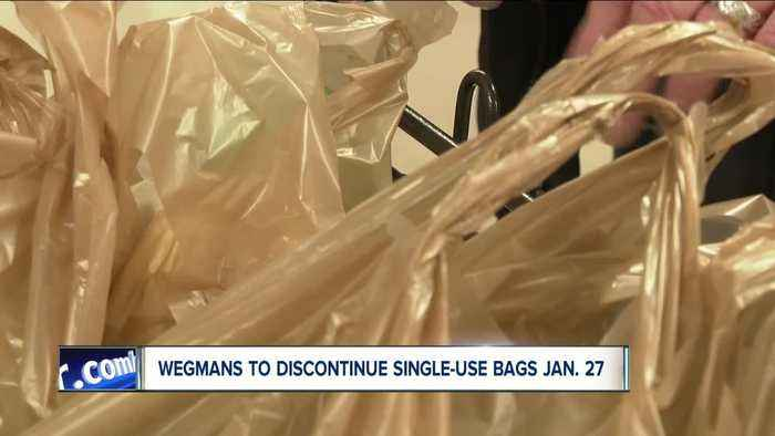 Wegmans announces plastic bag ban effective January 27
