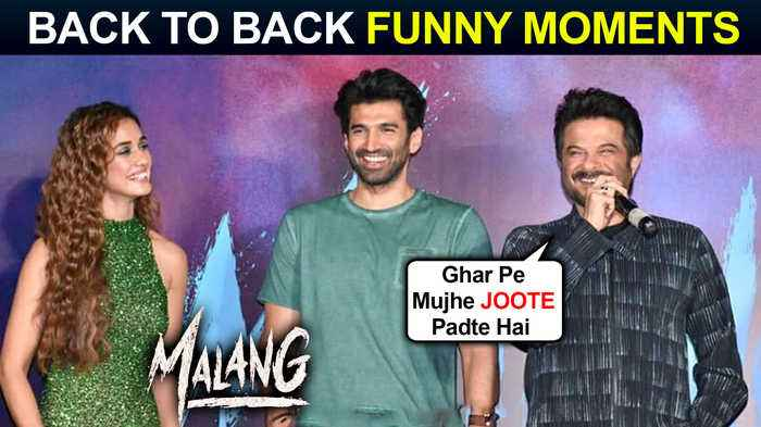 Anil Kapoor, Aditya, Disha Patani BACK TO BACK Funny Moments | Malang Official Trailer Launch