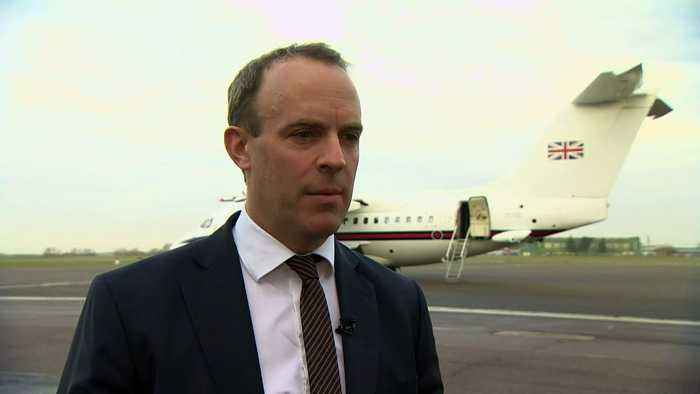 Raab: UK concerned Iran crisis could lead to 'damaging' war