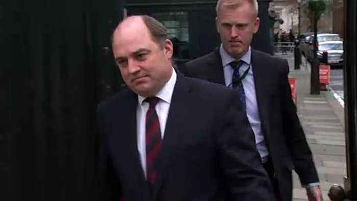 Cabinet depart Downing St after meeting with PM
